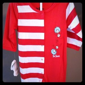 Other - NWT Dr. Seuss 9 months onesie Thing 1 & 2 CUTE!!